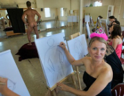 Artful Hen Party | Hen Party Life Drawing | Artful Life Drawing