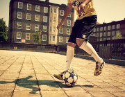 Football Freestyler hire | Entertain-Ment