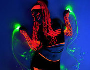Glow & Lazer Entertainers hire | Entertain-Ment
