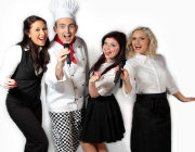 Singing Waiters hire