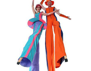 Hire Stilt Walkers | Entertain-Ment